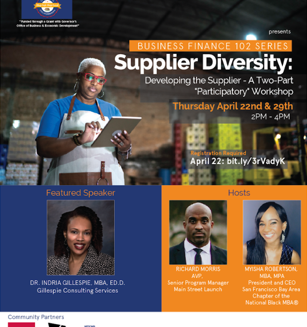 Business Finance 102: Supplier Diversity – Part II