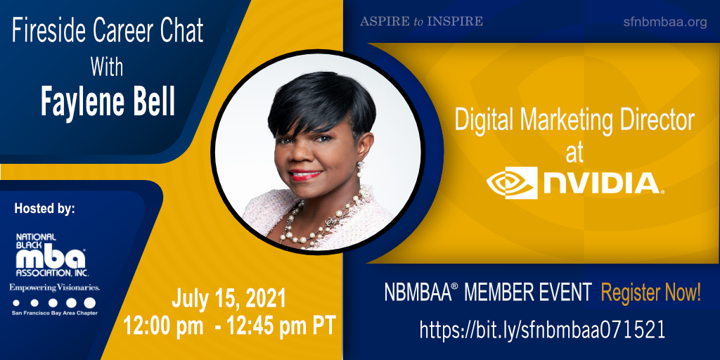 Fireside Career Chat with Faylene Bell, Digital Marketing Director at NVIDIA