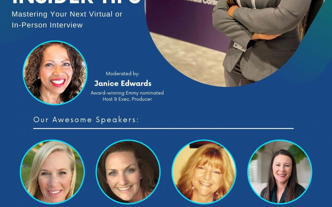 Recruiters Insider Tips: Mastering Your Next Virtual or In-Person Interview